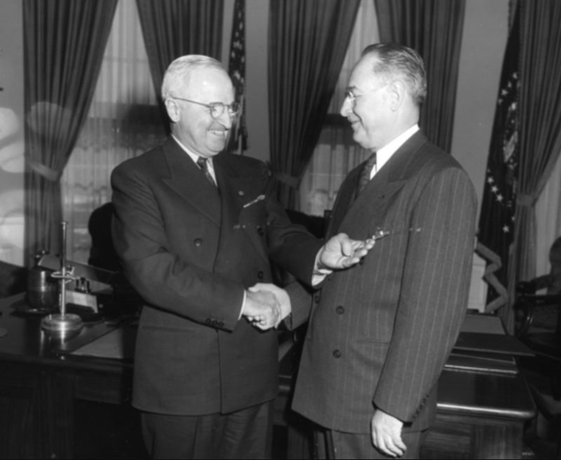 Truman and Souers